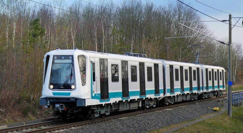Новите влакове на Софийското метро