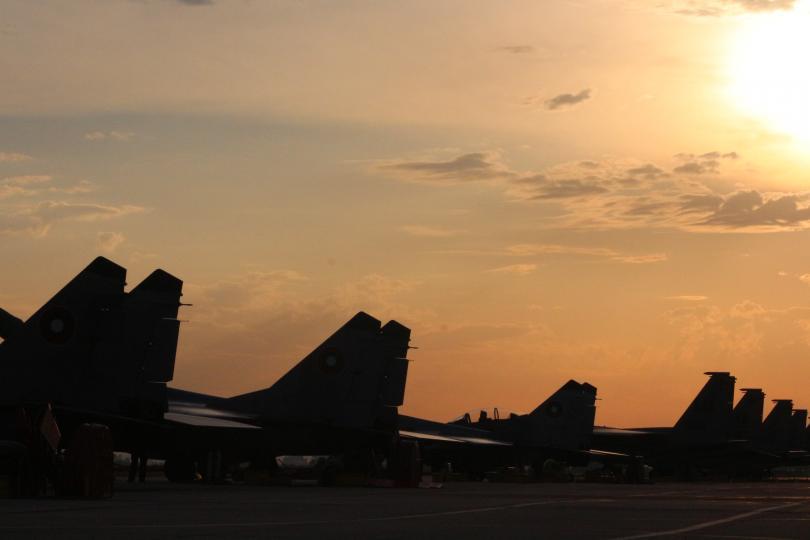 В парада ще вземат участие и три изтребителя МиГ-29