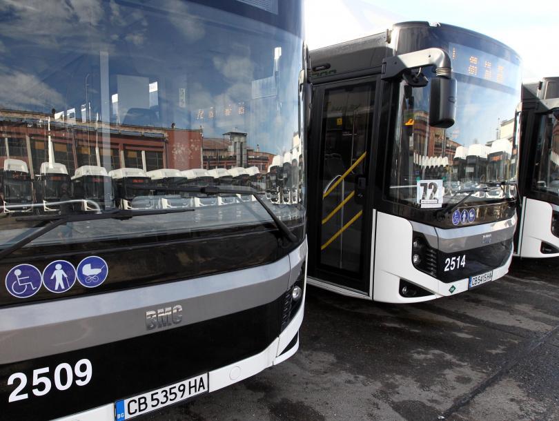 шофьорите градския транспорт софия високи заплати