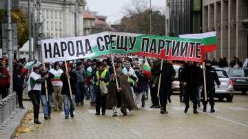 Протестът в София: недоволство срещу цените на горивата и за смяна на системата