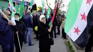 Мирен протест в София срещу използването на химическо оръжие в Сирия