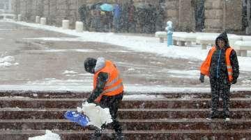 Снежната обстановка в София е нормална