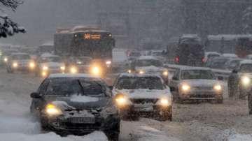 Рязко застудяване за Коледа, МВР със спешни мерки за трафика по празниците