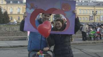Кампания Обичай безопасно в Деня на влюбените