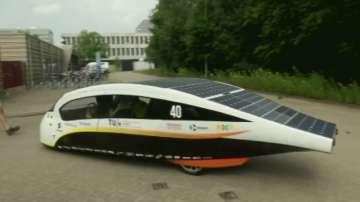 Зелена светлина: Кола, която се задвижва от слънчевите лъчи