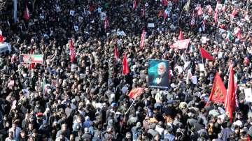 Най-малко 40 загинали при погребалната церемония на генерал Солеймани