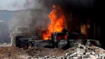 Поне 10 загинали и ранен министър при експлозията на кола бомба в Могадишу