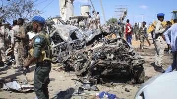 Най-малко 90 са жертвите на атентата в Сомалия