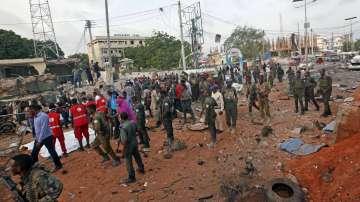 Нападение с коли бомби в сомалийската столица Могадишу