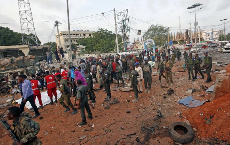 нападение коли бомби сомалийската столица могадишу