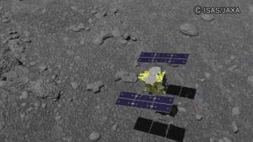 Японската сонда кацна на астероид