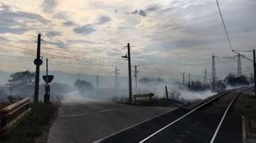 Напълно е потушен пожарът в Сопот