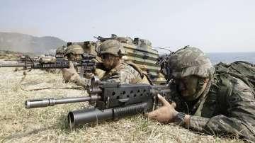САЩ и Южна Корея започнаха общи военни учения