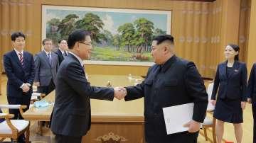 Среща между Северна и Южна Корея през април