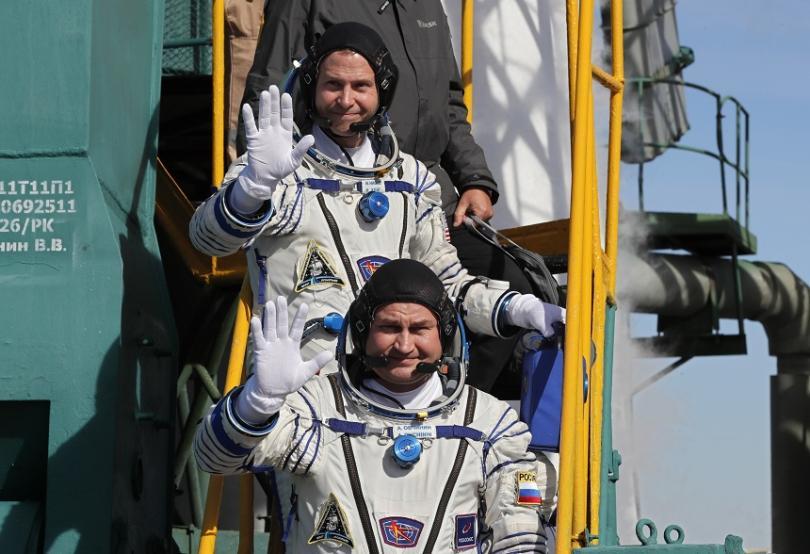 Американецът Ник Хейг (горе) и руснакът Алексей Овчинин (долу)