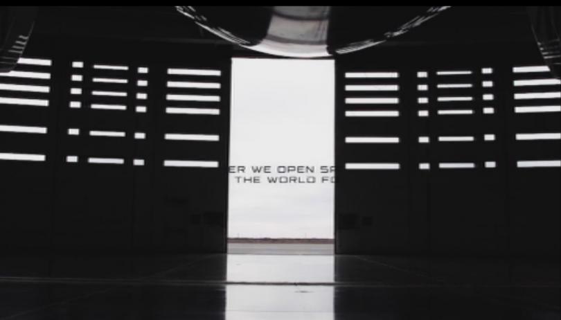 Снимка: Върджин Галактик показа интериора на първото космическо летище