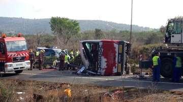 Българка е сред ранените при катастрофата на автобус в Испания