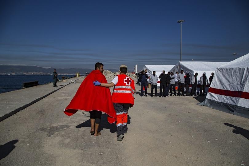 Испанската брегова охрана съобщи, че е спасила през вчерашния ден