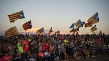 В Каталуния отбелязват 1 година след референдума за независимост