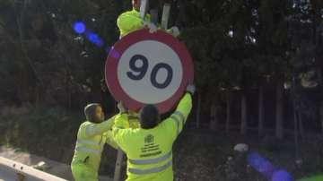 Намалиха ограничението на скоростта по пътищата в Испания