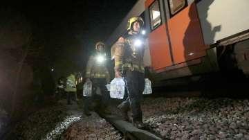 Два влака се удариха в Испания