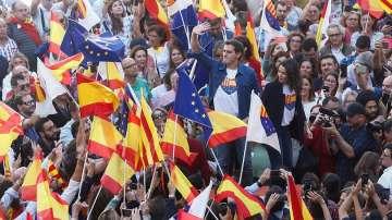 Демонстрация в подкрепа на единството на Испания