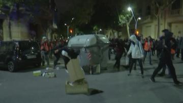 Сблъсъци в Барселона в навечерието на парламентарните избори в Испания