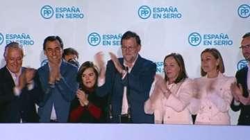 Партията на Мариано Рахой спечели парламентарните избори в Испания