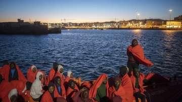 1200 мигранти бяха спасени за последните два дни край бреговете на Испания