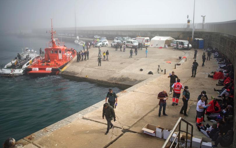 600 мигранти са спасени за 12 часа до бреговете на Испания