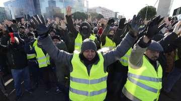 Стачка на испански таксиметрови шофьори