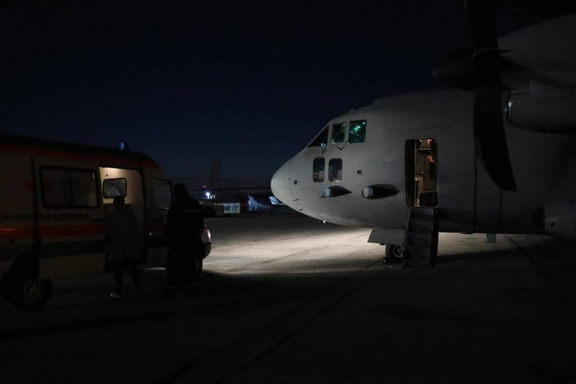 """Самолет """"Спартан"""" от 16-та транспортна авиогрупа Враждебна на Военновъздушните сили"""