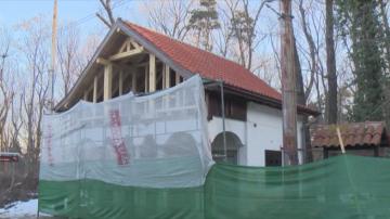 Ремонтът на емблематичната къща на спирка Вишнева тече по график