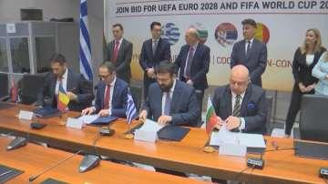 Спортните министри на България, Румъния, Гърция и Сърбия подписаха меморандум