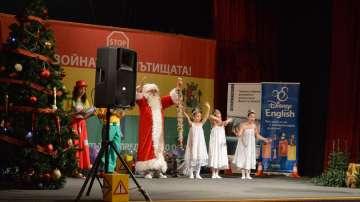 Кампанията на БНТ Спри, детето запази! с образователен празник за Коледа