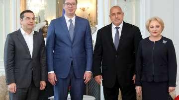 Бойко Борисов е домакин на четиристранна среща в резиденция Евксиноград