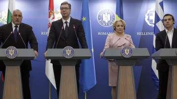Лидерите на България, Румъния, Гърция и Сърбия се срещнаха в Букурещ