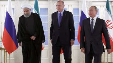 Путин, Ердоган и Рохани обсъдиха бъдещето на Сирия