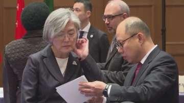Външните министри на страните от Г-20 се срещнаха в Япония