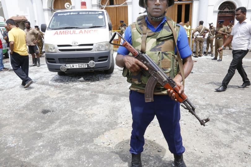 Снимка: Нова експлозия в столицата на Шри Ланка