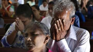 Първа църковна служба след атаките в Шри Ланка