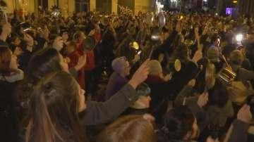 Необичайна стачка организираха испански жени по повод Международния ден на жена