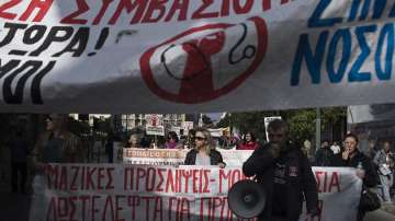 Стачка в държавния сектор в Гърция