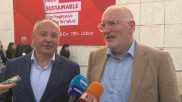 ПЕС излъчи Франс Тимерманс за свой общ кандидат за председател на ЕК