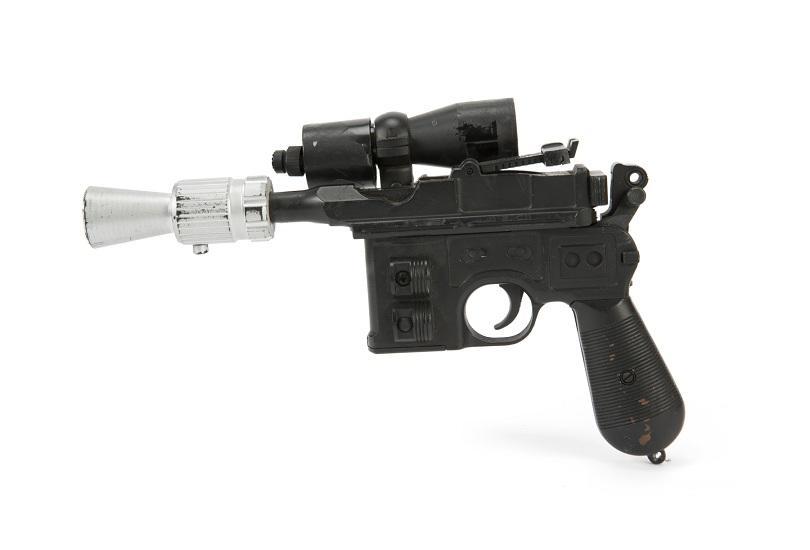 Лазерният пистолет на Хан Соло от филма