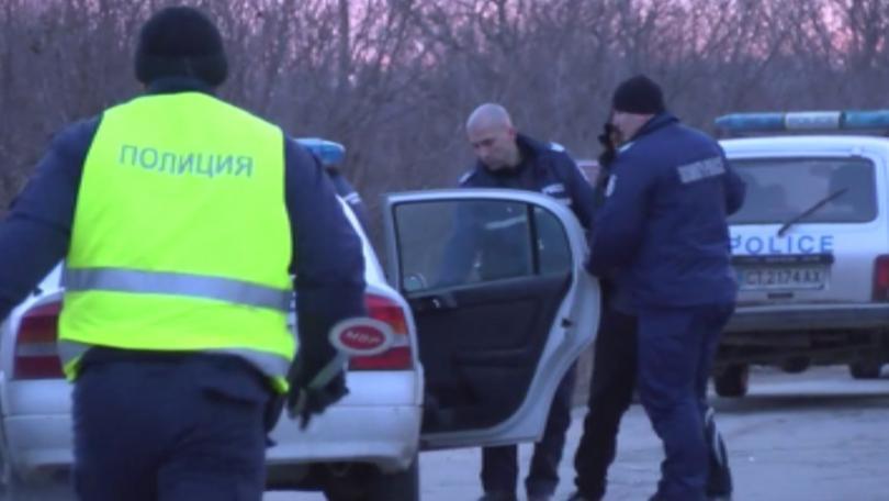 Снимка: Трима арестувани след среднощната гонка по магистрала Тракия