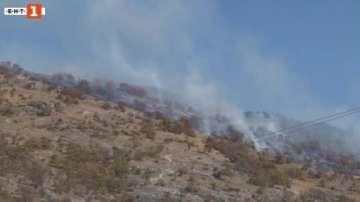 Човешка небрежност по време на пикник стана причина за пожар край Казанлък