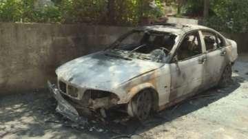 Запален е личният автомобил на кмета на гр. Гурково Иван Иванов
