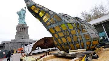 Музей приютява оригиналния факел на Статуята на свободата