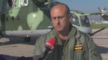 Репетиция на летателната военна техника за 6 май над София